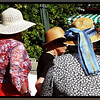 Ladies in straw hats