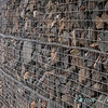 Gabion wire caged rock wall_1338