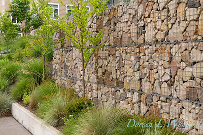Caged rock wall - gabion_2445