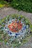 Mosaic art glass in the garden_1522
