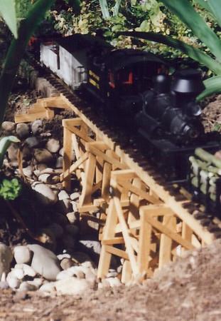 Garden Railroad 1990's