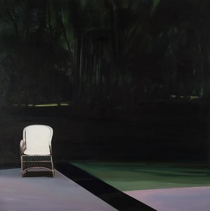 Garden in Luca, White Chair