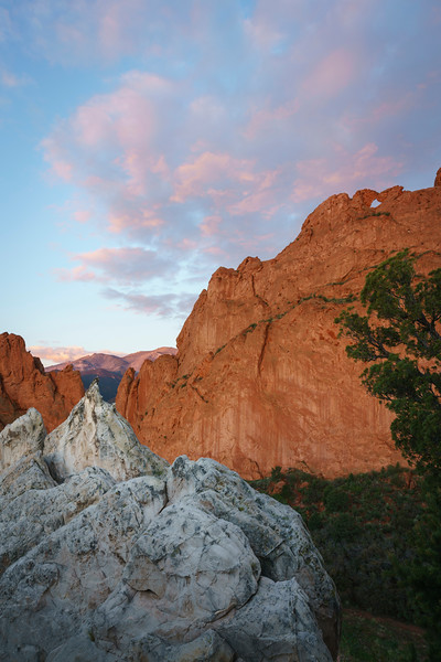 Early mornings in the Garden of the Gods rarely disappoint.