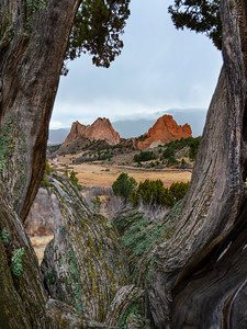 Sunday April morning in the Garden of the Gods