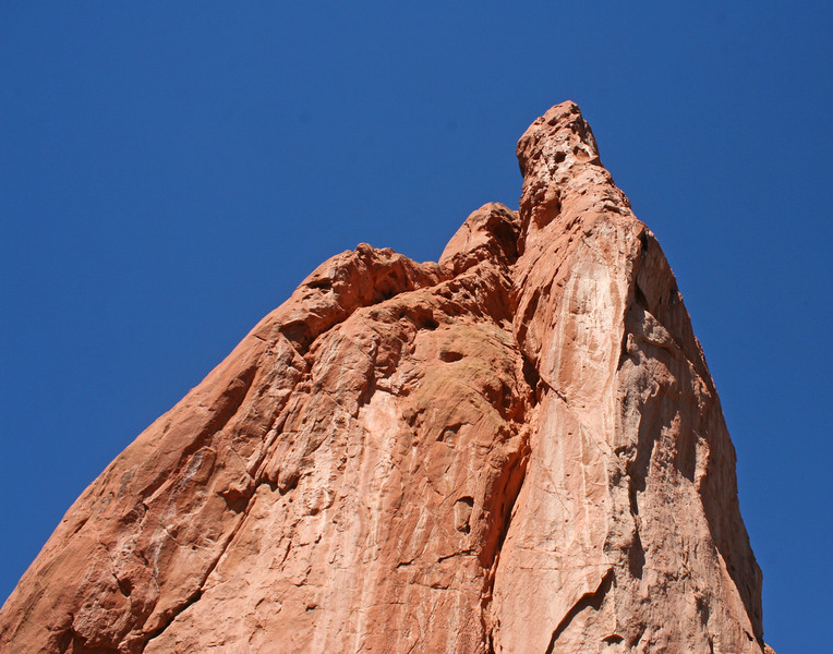 Rock Formation  found in Garden of the Gods, a national landmark in Colorado Springs, Colorado.