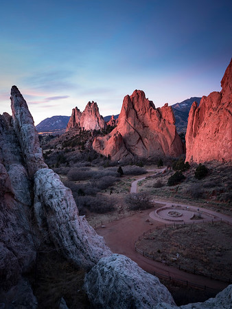 First day of February, Garden of the Gods