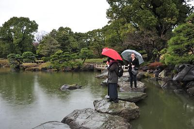 Kiyosumi and Hamarikyu Gardens with Anke