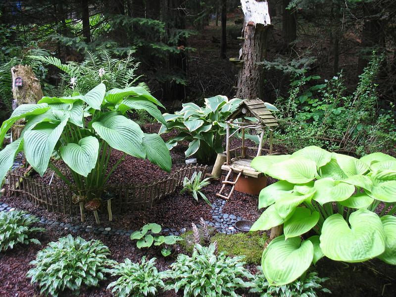 The fairy garden.