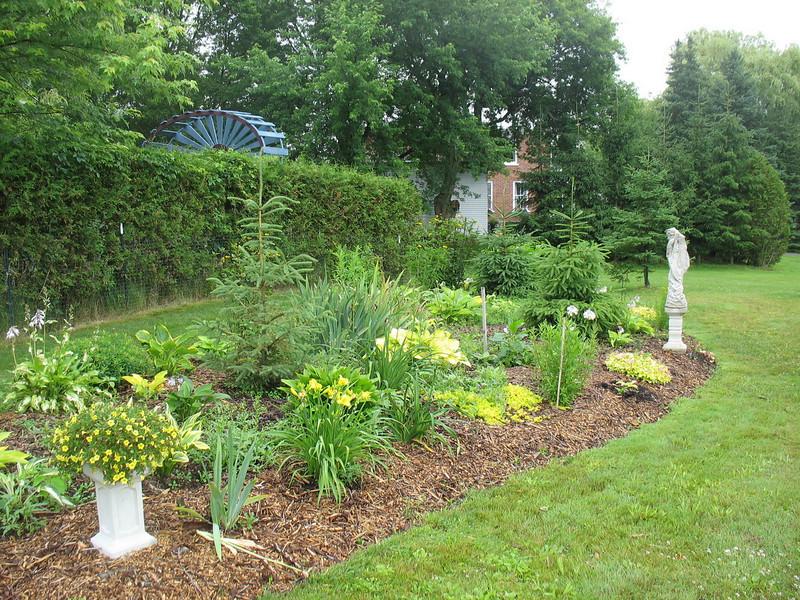 A more open garden.