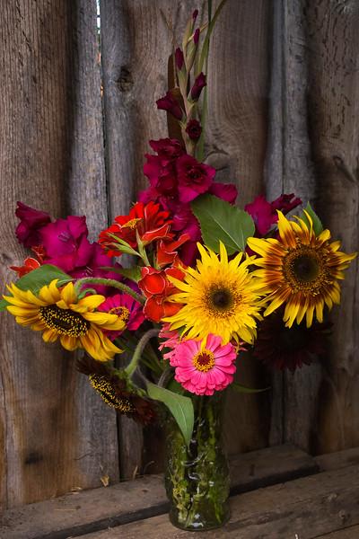 Helianthus bouquet (sunflowers)