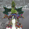 headdress made from flowers