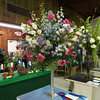 "European period floral design interpreting the class title ""A Wonderful Dream Come True"" won by Cindy Reiger"