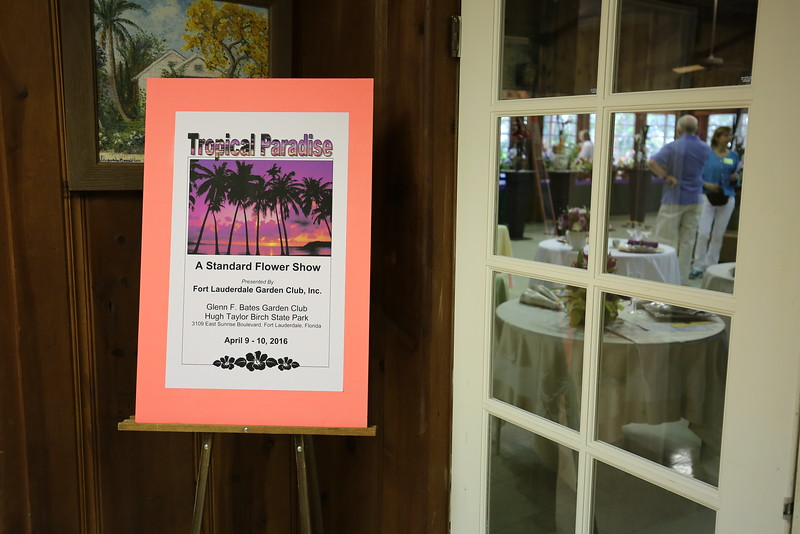 Tropical Paradise,  a Standre Flower Show