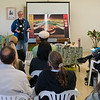 Jim Channon presents a vision for a sustainable Kohala at the Hawi/Kapa'au workshop on Sunday, March 8, 2009.