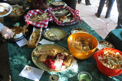 As with most Master Gardener events, the appetizers were exceptional in their quality and variety.