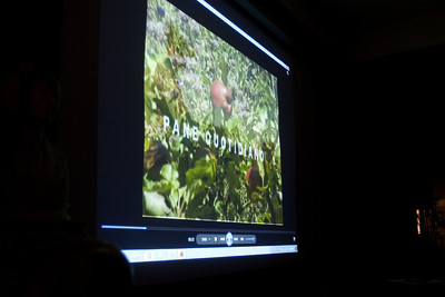 A video was shown sharing growing techniques used in southern Italy and the Santa Clara Valley.