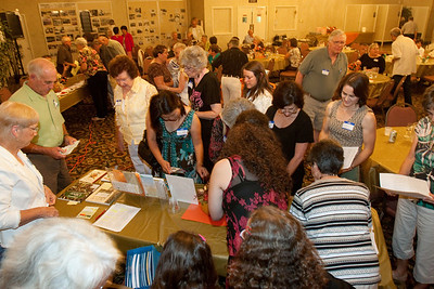 There was a lot of interest in the Master Gardener information.
