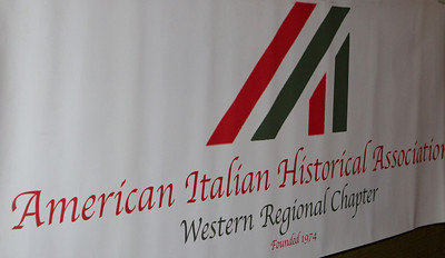 There was a table with information from the American Italian Historical Association