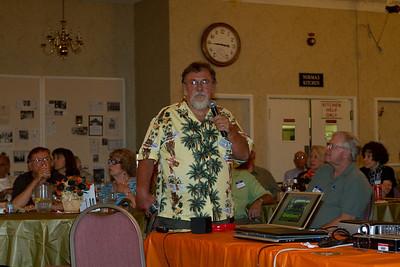 Jim during his presentation