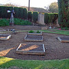 1.31.2009 Finished running the water lines to each raised bed. Next step is to give the raised beds a coat of stain (maybe), then lay down some weed cloth and install some edging to keep the grass from encroaching on the garden area...