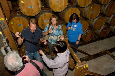 Sampling from the oak barrel is a special experience.