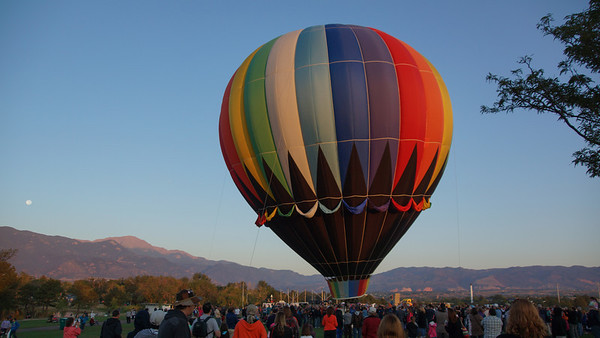 36th Annual Classic Hot Air Balloon Festival in Colorado Springs ~ Labor Day Weekend 2012