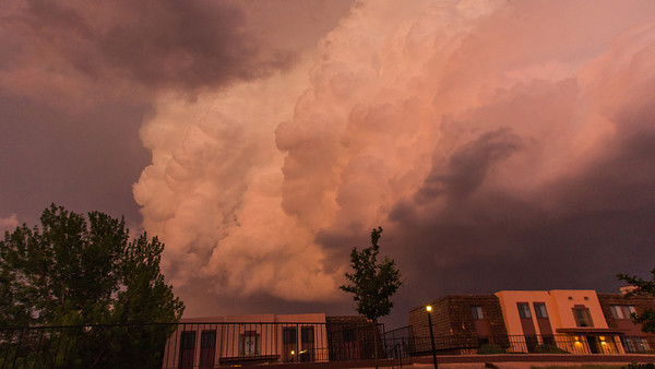 06-07-2012 Second night of storms for the Colorado Springs area and east.