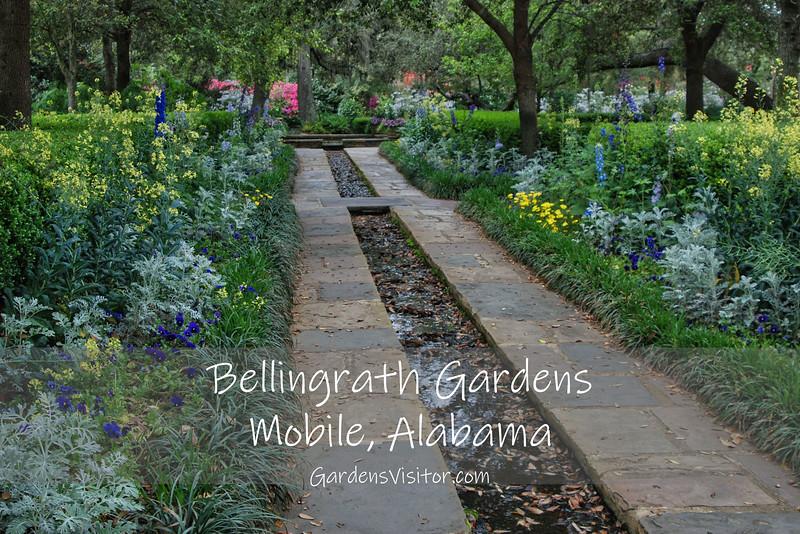 Formal gardens at Bellingrath Gardens. Click to open photo gallery.