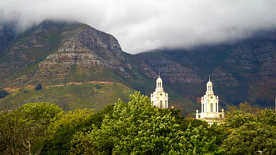 View of Table Mountain from the Company's Garden, Cape Town