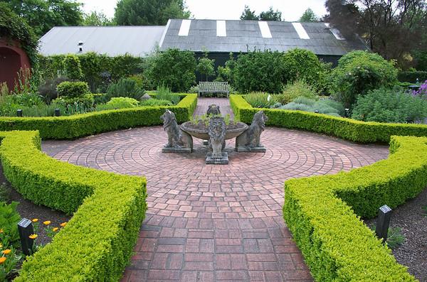 Herbs garden Hamilton Gardens Hamilton New Zealand - 4 Nov 2006