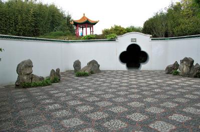 Chinese Scholar's Garden Hamilton Gardens Hamilton New Zealand - 4 Nov 2006