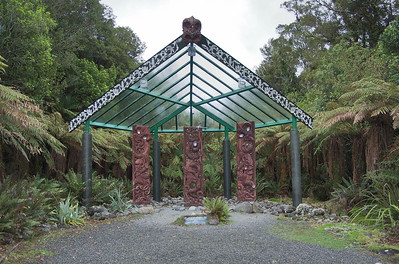 Te Whare Taongas House of Treasures Pukeiti Taranaki New Zealand - 27 Oct 2006