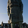 Fraserborough memorial to the memory of lost lifeboat men outside the towns lifeboat station