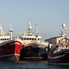 Fraserborough trawlers tiied up