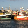 Fraserborough fishing boats in harbour