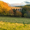 the old north Scottish railway viaduct in the parish of Edinkillie south of Forres