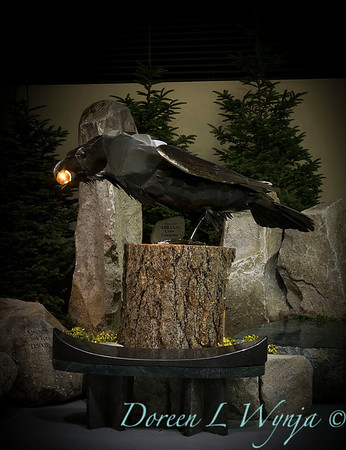 Abraxas Crow steel sculpture_1158