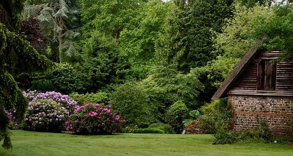 L'Etang de Launay garden