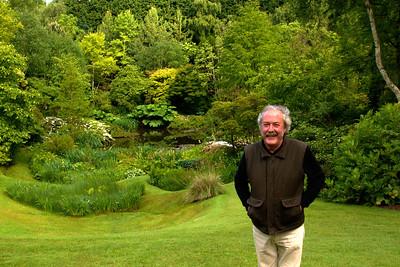 L'Etang de Launay garden with Jean-Louis Dantec, the owner