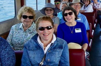 Aboard the Harbor Queen
