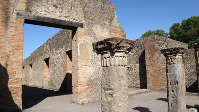 The Roman city of Pompeii