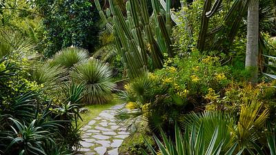 Giardino di Villa Trinità in Mascalucia