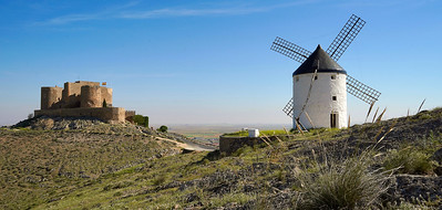 La Mancha windmills of Consuegra