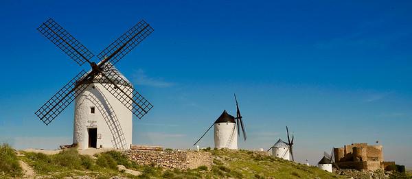 La Mancha windmills of Consuegra