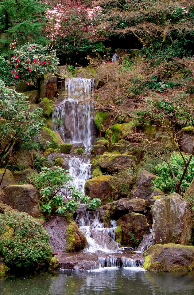 Waterfall vertical