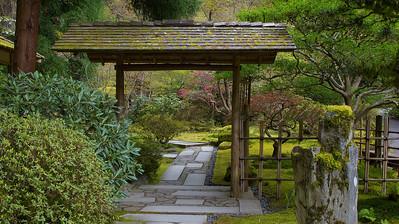 J. Garden doorway