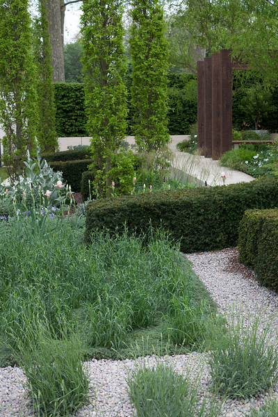 'The Laurent-Perrier Garden' uniting the classic styles of French and English landscaping