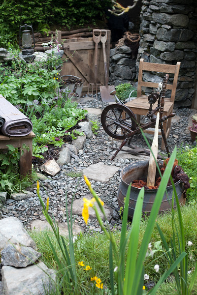 Motor Neurone Disease - a Hebridean Weaver's Garden, based around a traditional blackhouse on Lewis in the Outer Hebrides
