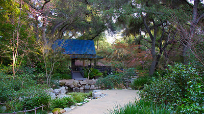 Blue Pagoda at Descanso Gardens