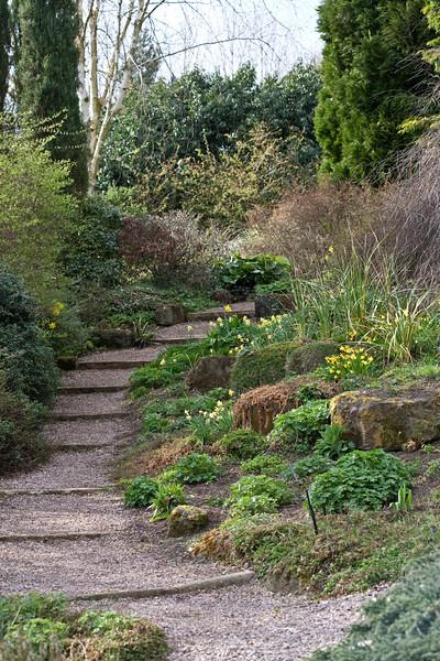 Rockery Garden at Dorothy Clive Garden